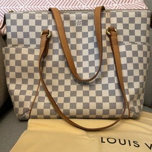 Louis Vuitton Totally MM Azur MADE IN FRANCE